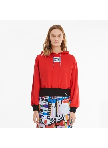Puma Kadın Kırmızı International Sweatshirt 599698.023 Kırmızı